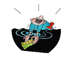 漫画:自我套牢