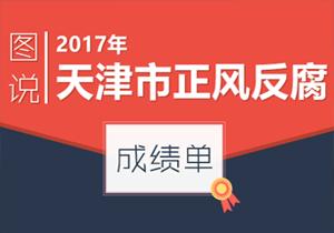 【图说】2017年天津市正风反腐成绩单
