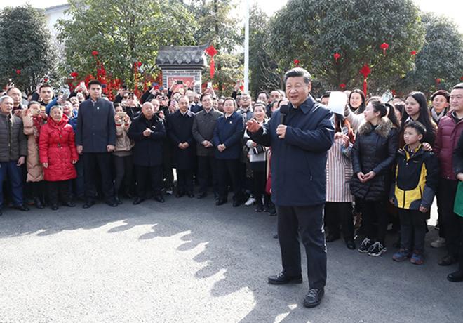 这些年,习近平总书记春节前都去过哪里?
