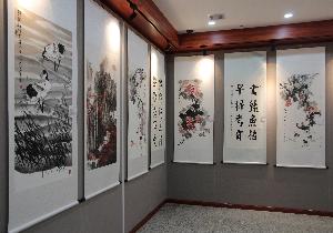 【津廉文化】西青区组织书画展大力宣传廉政文化