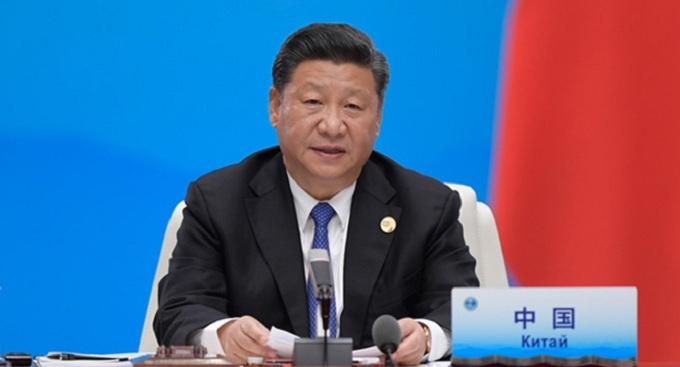 """上海合作组织青岛峰会举行 习近平主持会议并发表重要讲话  强调要进一步弘扬""""上海精神"""" 构建上海合作组织命运共同体"""