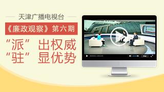 """天津广播电视台""""廉政观察""""专栏第六期"""