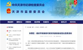 东丽区:组织开展基层村居党风廉政建设互比互看活动