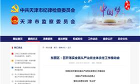 东丽区:召开落实全面从严治党主体责任工作推动会