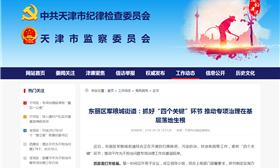 """东丽区军粮城街道:抓好""""四个关键""""环节 推动专项治理在基层落地生根"""