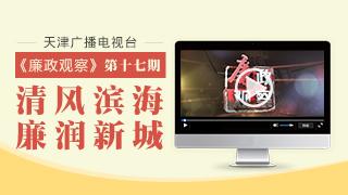"""天津广播电视台""""廉政观察""""专栏第十七期"""