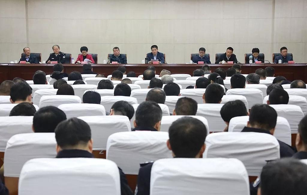 武清区扫黑除恶专项斗争推进会召开