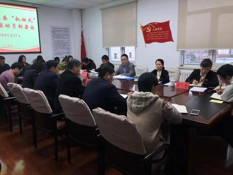 """河东区召开十一届区委""""机动式""""专项巡察动员部署会"""