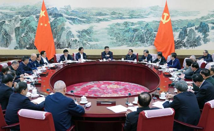 中央政治局召开民主生活会 习近平主持会议并发表重要讲话