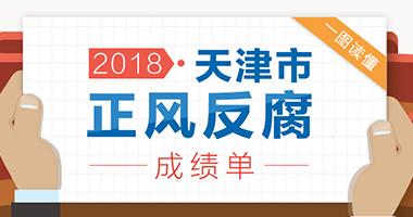 图说:2018年天津市正风反腐成绩单