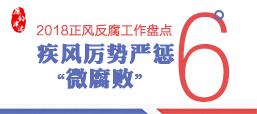 """【2018正风反腐工作盘点⑥?#32771;?#39118;厉势严惩""""微腐败"""""""