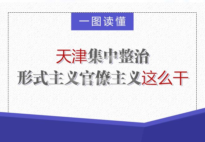 【一图读懂】天津集中整治形式主义官僚主义这么干
