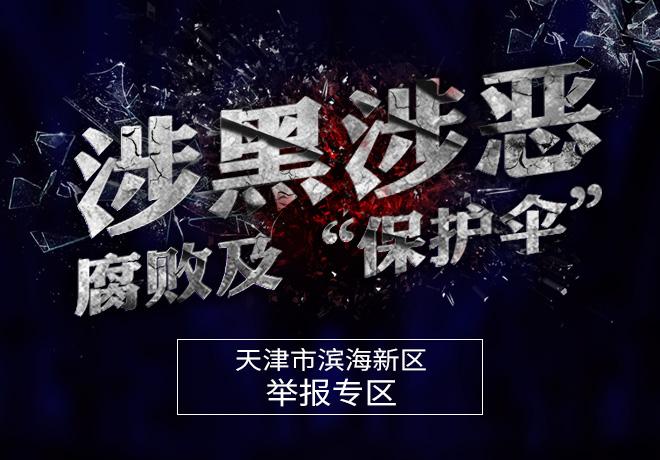 天津市滨海新区扫黑除恶举报专区