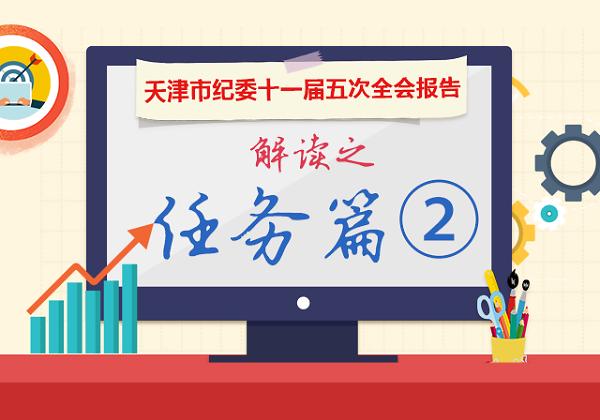 图解天津市纪委十一届五次全会报告丨任务篇②
