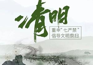 """媒体关注天津丨重申""""七严禁"""" 倡导文明祭扫"""