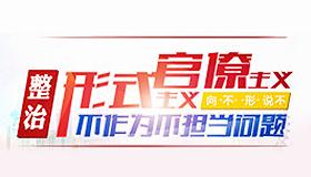 集中整(zheng)治(zhi)形式主(zhu)義官僚(liao)主(zhu)義、不作(zuo)為不擔當問題