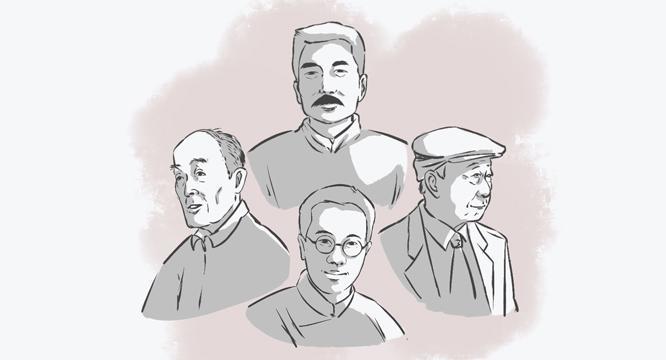 漫画长长图丨教师节,重温名家笔下的老师