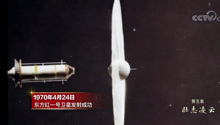 走在大路上·细节   在卫星上播放《东方红》