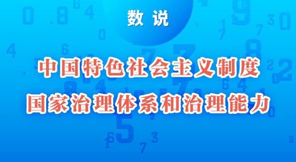 数说丨中国特色社会主义制度、国家治理体系和治理能力