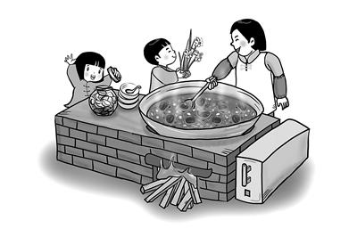 【清风文苑】腊八迎年倡节俭