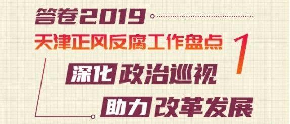 答卷•2019天津正风反腐工作盘点①