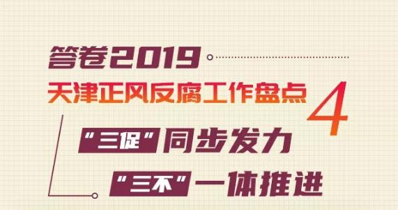 答卷2019天津正风反腐工作盘点④