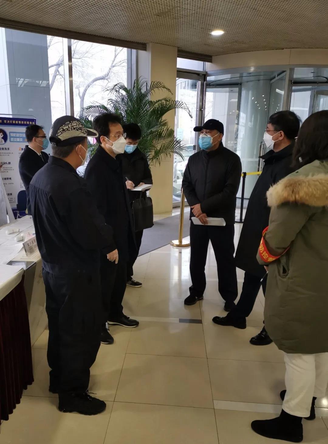 邓修明检查指导和平区统筹推进疫情防控和经济社会发展工作