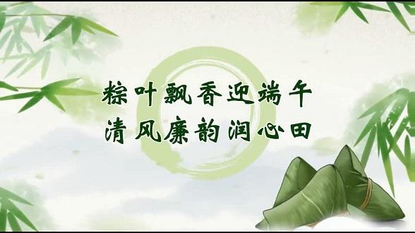 视频丨粽叶飘香迎端午 清风廉韵润心田