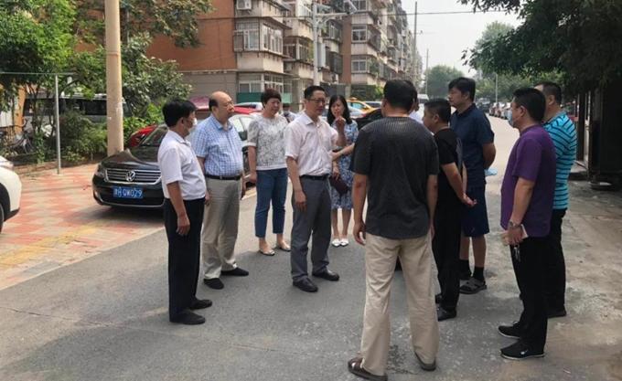 河北区纪委监委开展防汛专项监督检查