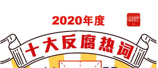 2020年度十大反腐热词,新鲜出炉!
