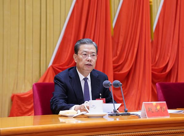 赵乐际在十九届中央纪委五次全会上作工作报告