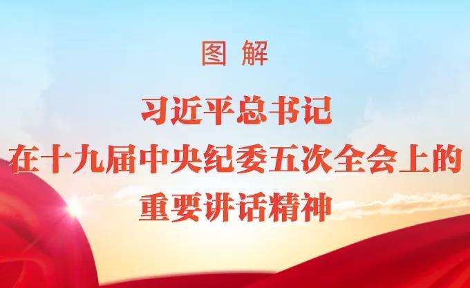 图解丨习近平总书记在十九届中央纪委五次全会上的重要讲话精神