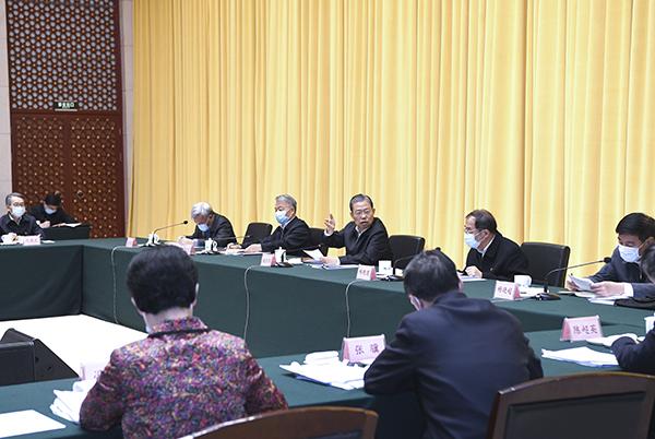 赵乐际:扎实推进中央单位内部巡视 强化政治监督促进政治建设