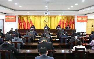 区纪委监委机关召开党史学习教育动员部署会议