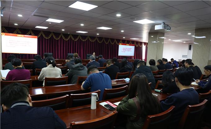 红桥区纪委监委举办党史教育专题党课