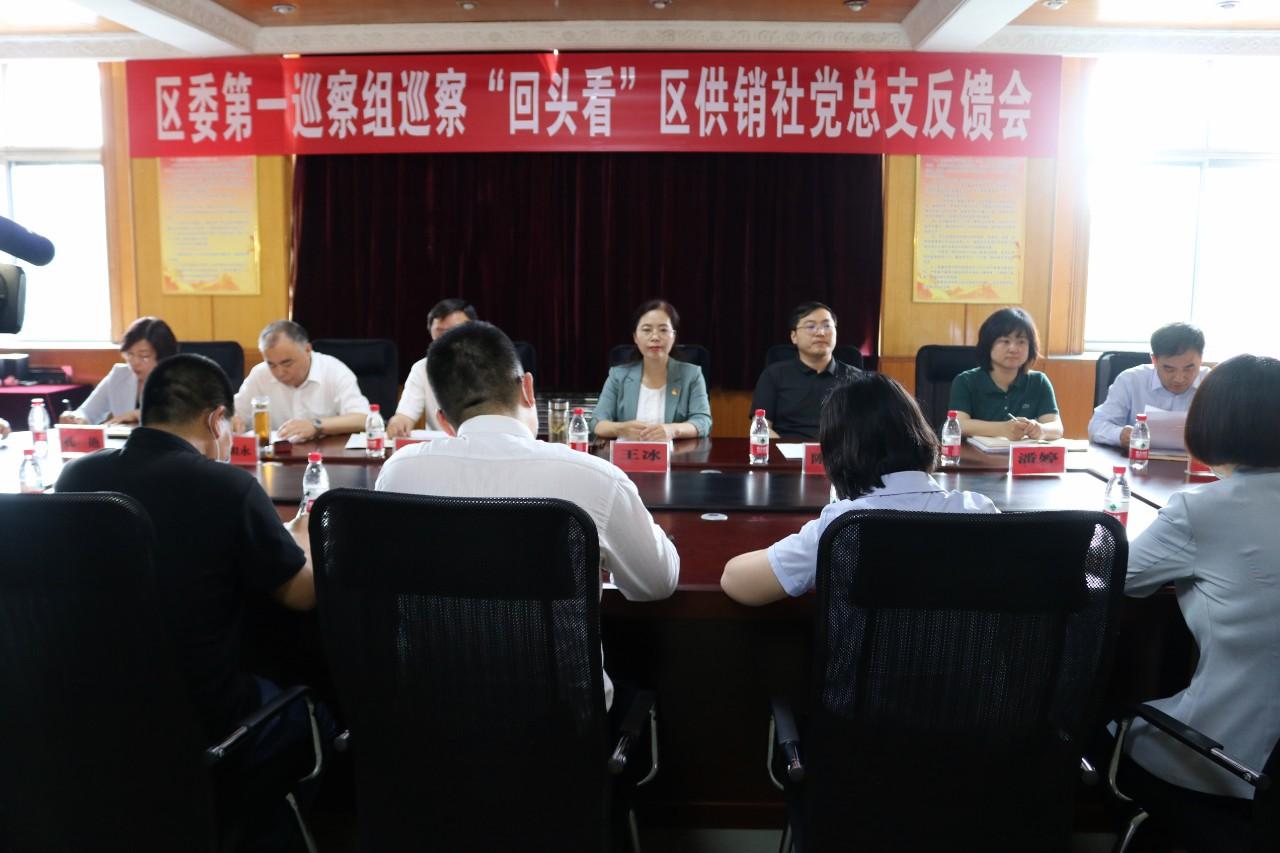 西青区委巡察组向供销社、农业农村委等6个党组织反馈巡察意见