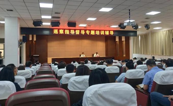 河北区召开巡察指导督导专题培训辅导会议