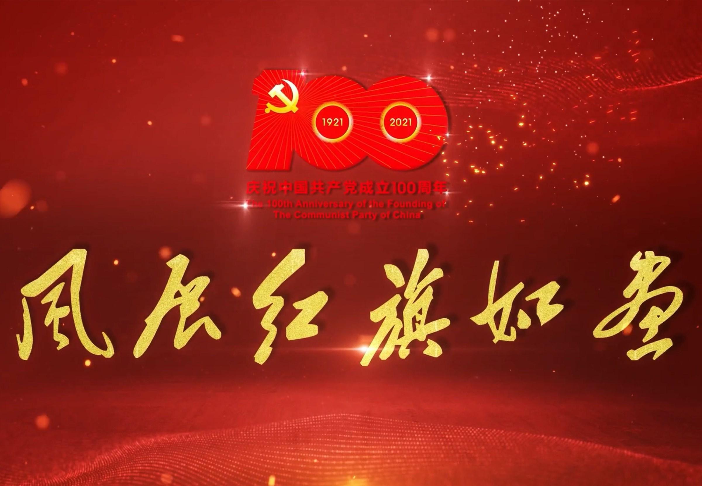 风展红旗如画-南开区纪委监委庆祝中国共产党成立100周年