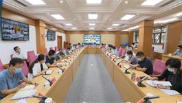 西青区委常委会扩大会议暨区疫情防控指挥部工作会议召开