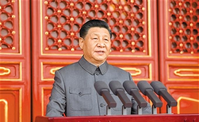 全文   习近平在庆祝中国共产党成立一百周年大会上的讲话