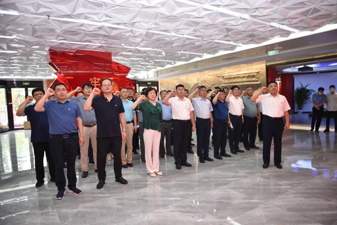 武清区党政正职高级进修班赴通州区调研学习