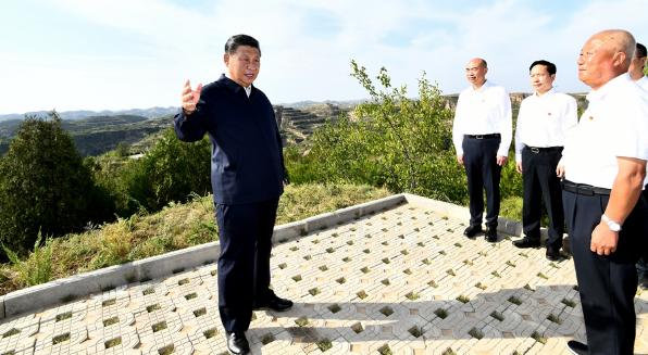 """""""我们是从这里走过来的""""──记习近平总书记在陕西榆林考察"""