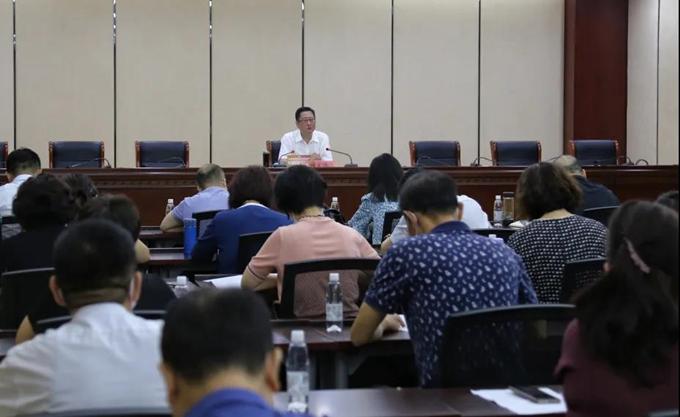 河北区纪委监委开展换届风气监督专题谈心谈话