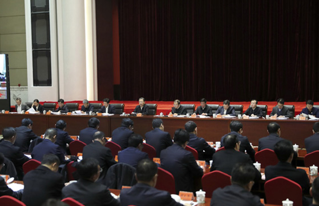 趙樂際:深入貫徹落實黨的十九大精神 扎實有序在全國推開國家監察體制改革試點工作