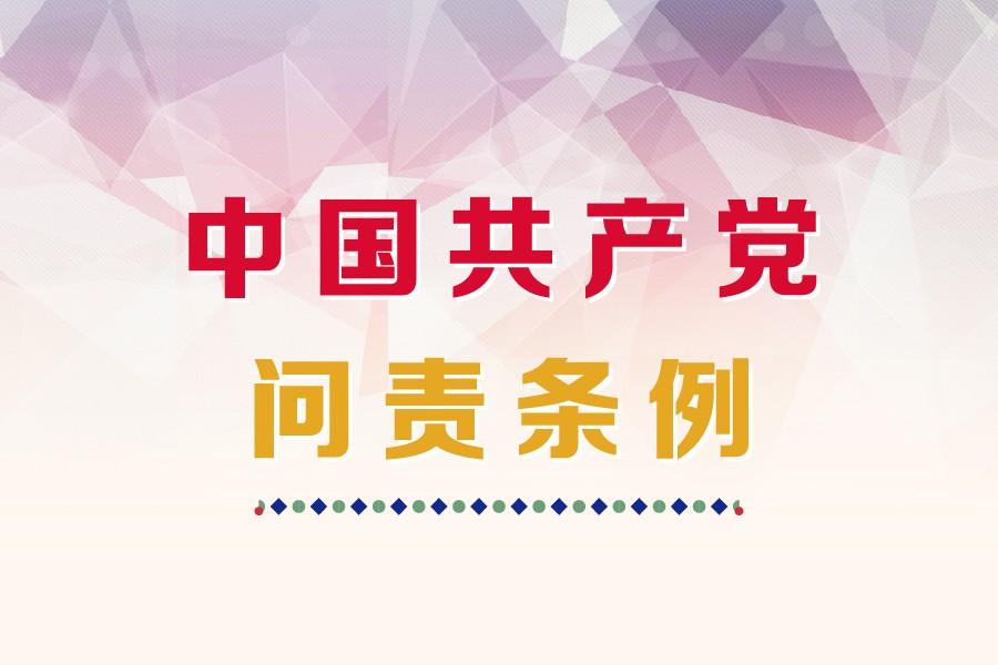 持续释放问责利器威力——写在《中国共产党问责条例》施行两周年之际