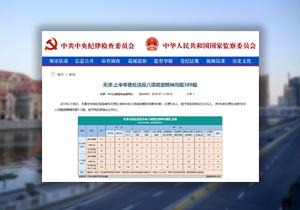 【媒体关注天津】上半年查处违反八项规定精神问题389起