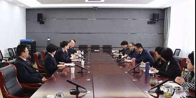 河北区纪委、区监察委与区检察院领导班子举行监察体制改革试点工作座谈
