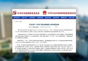 """【媒体关注天津】两个""""100条""""把安全措施嵌入审查调查全程"""