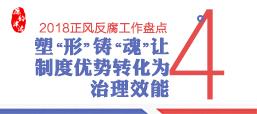 """【2018正风反腐工作盘点④】塑""""形""""铸""""魂"""" 让制度优势转化为治理效能"""