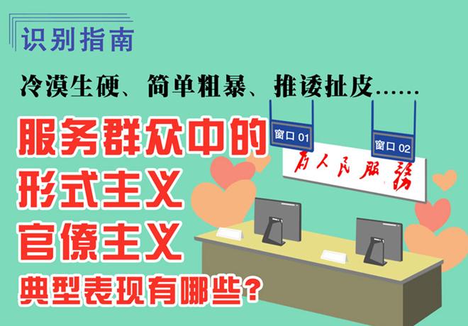 識(shi)別(bie)指南(nan) 服務(wu)群眾(zhong)中的形式主(zhu)義官僚(liao)主(zhu)義典型表現有哪些(xie)?